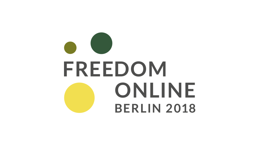 Ambassador Corina Călugăru promoted Council of Europe standards at the annual Freedom Online Conference