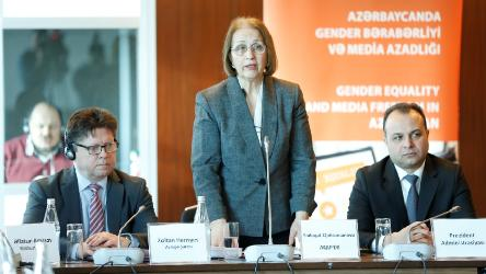 Azerbaijani journalists trained on Council of Europe standards on gender equality and media