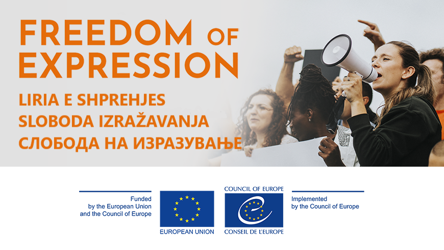 The second edition of the online course on Freedom of expression is now available in Albanian, Bosnian, Macedonian, Montenegrin and Serbian