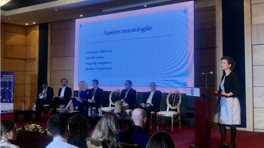 Scientific Conference on Challenges of Implementing European Standards of Freedom of Expression in the Albanian Context organised in Tirana