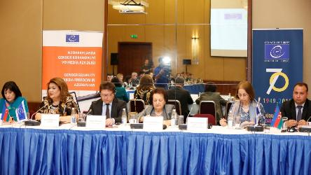 "Conference on ""Gender equality and media"" organised in Baku"