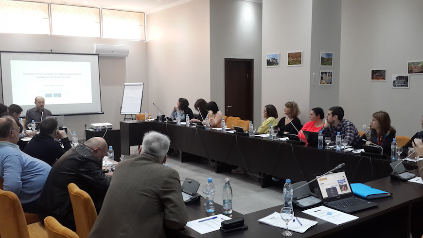 Trainings for members of the Georgian National Communications Commission