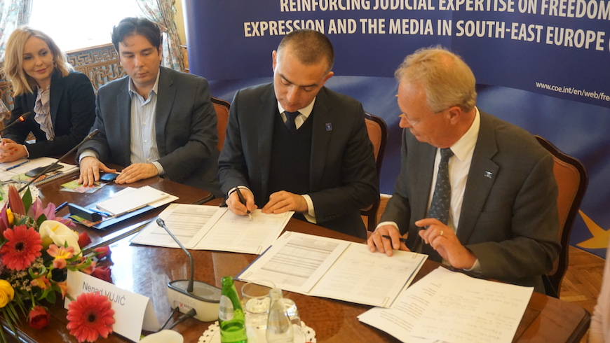 Grant Agreement with the Judicial Academy of Republic of Serbia signed