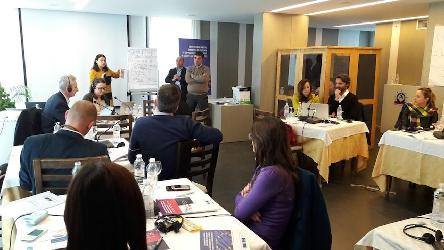 Training of Trainers course on Freedom of Expression for Judges, Lawyers and Prosecutors, held in Albania