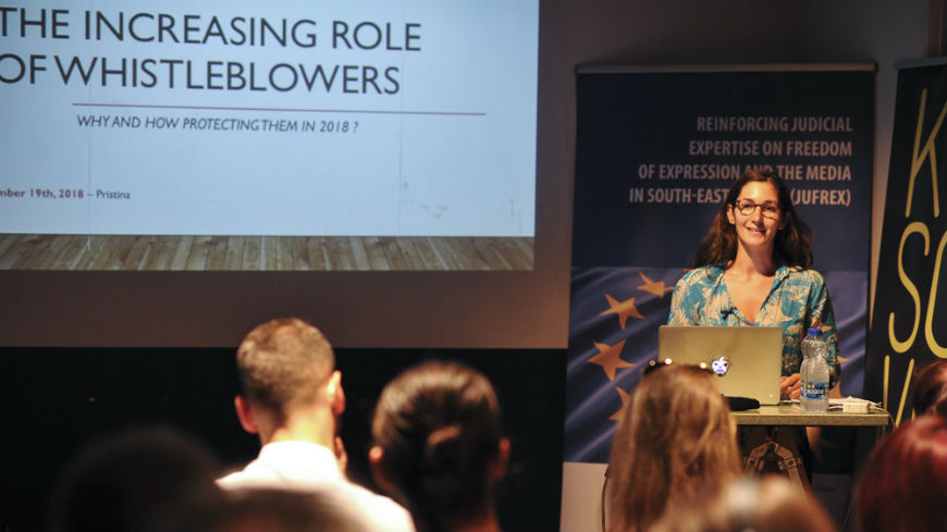 Inter-professional discussion on increasing role of whistleblowers
