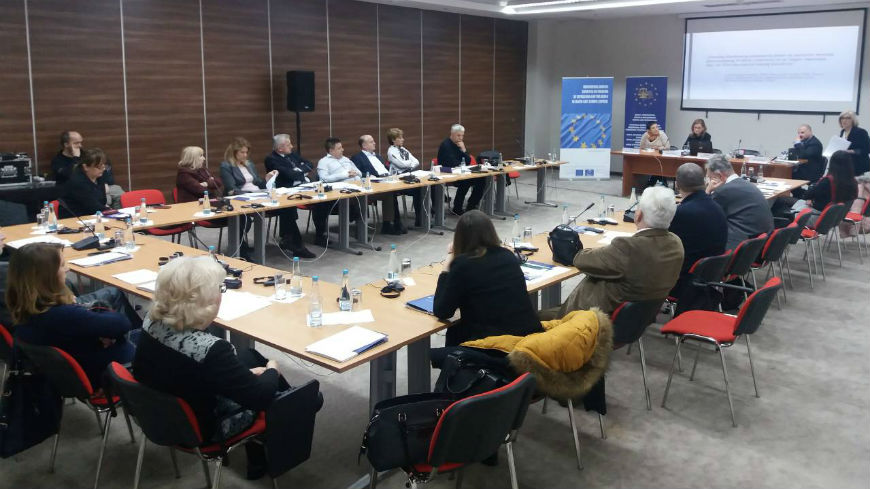 Seminar on Article 10 of ECHR in Konjic: Freedom of Expression in local courts of BiH