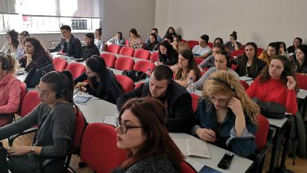 "Lecture in Podgorica, Montenegro on  ""The Freedom of Expression – Rights and Responsibilities of Journalists in line with the European Convention on Human Rights"""