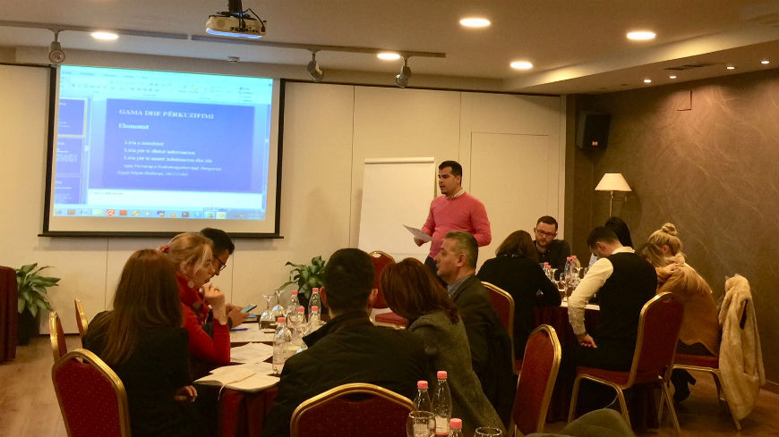 Training for lawyers on defamation cases and freedom of expression cases in Tirana