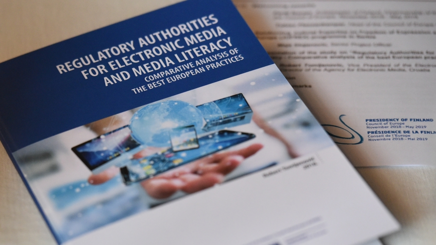 "Presentation of the Study ""Regulatory Authorities for Electronic Media and Media Literacy - Comparative analysis of the best European practices"""