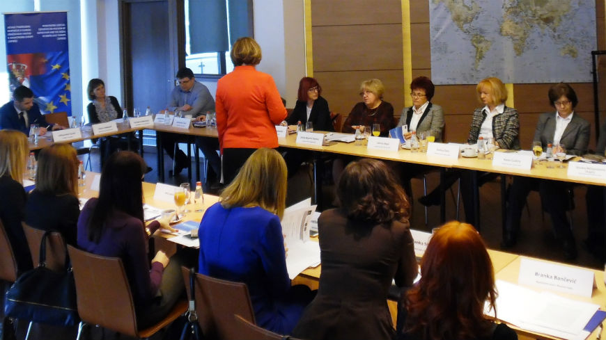 Training to judges and prosecutors on freedom of expression and the media in Vrdnik