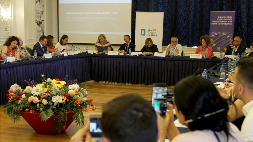 For an ethical journalism in Albania—Albanian Media Council discusses self-regulation mechanisms