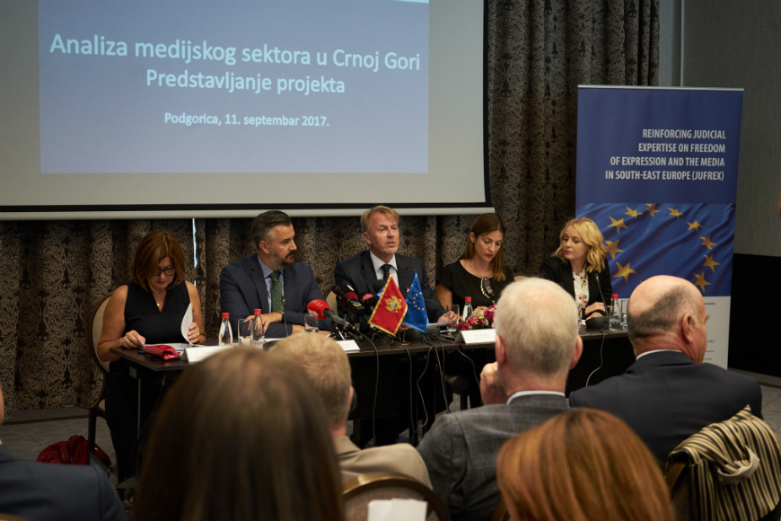 Kick-off  meeting - media sector inquiry, Montenegro
