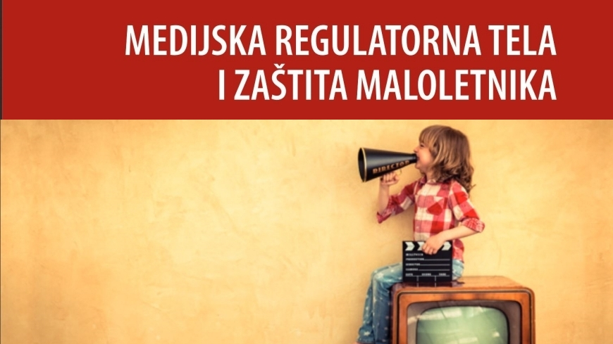 JUFREX regional publication on media regulatory authorities and protection of minors available in Serbian