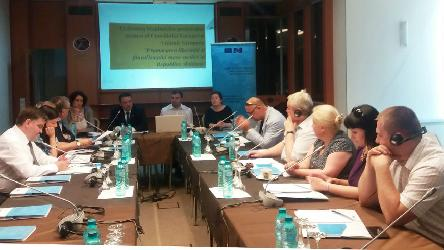 2nd Steering Committee Meeting of Moldova Project