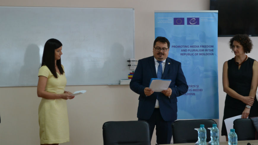 Official Opening of a Training Centre of the Broadcasting Company Teleradio-Moldova