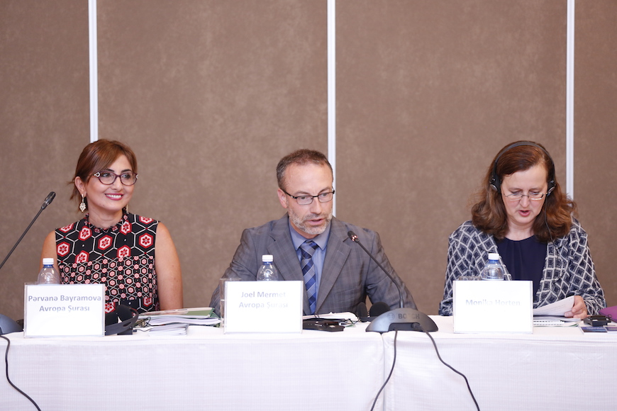 Training seminar on Internet and Human Rights for journalists in Baku