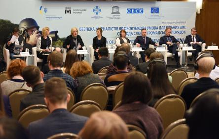 """Safety of journalists - an imperative for free media"" International Conference held in Kyiv"