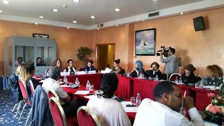 Workshop on the portrayal of women in the media in Morocco