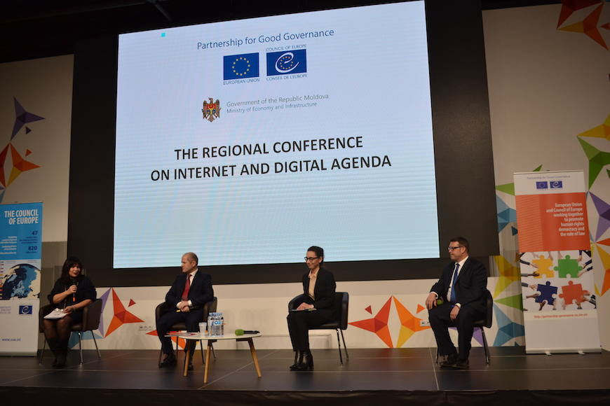 Regional Conference on Internet Governance and Digital Agenda, Chisinau, 6-7 December
