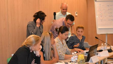 Training seminar on media monitoring for the broadcasting regulatory authority of Moldova