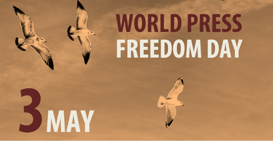 3 May – World Press Freedom Day
