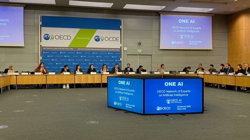The Council of Europe contributes to the OECD work on Artificial intelligence