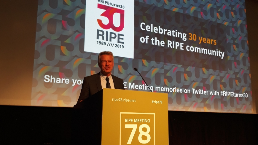The Council of Europe partnership with business to protect human rights showcased at RIPE