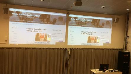 Council of Europe work presented at 4th annual conference on the Safety of Journalists in Oslo