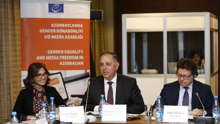 Steering Committee discussed draft revised version of Code of ethics for Azerbaijani journalists from a gender equality perspective