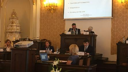 Media ownership, transparency and regulation standards presented in Prague