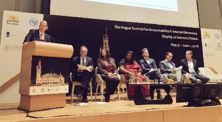Council of Europe at the first The Hague Summit for Accountability and Internet Democracy