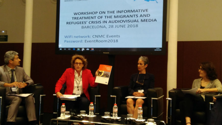 Workshop on the Treatment of the Mediterranean Migrant & Refugee Crisis on the Audiovisual Media
