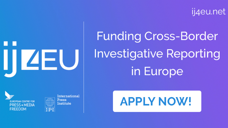 New fund  launched to support cross-border investigative journalism in EU