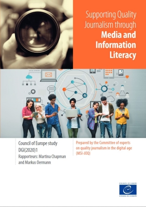 Supporting Quality Journalism through Media and Information Literacy