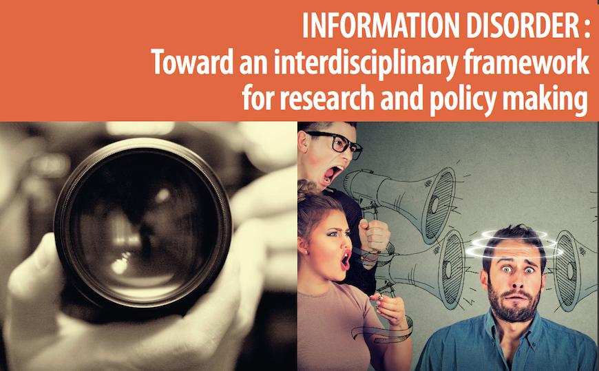Examining information disorder - new report