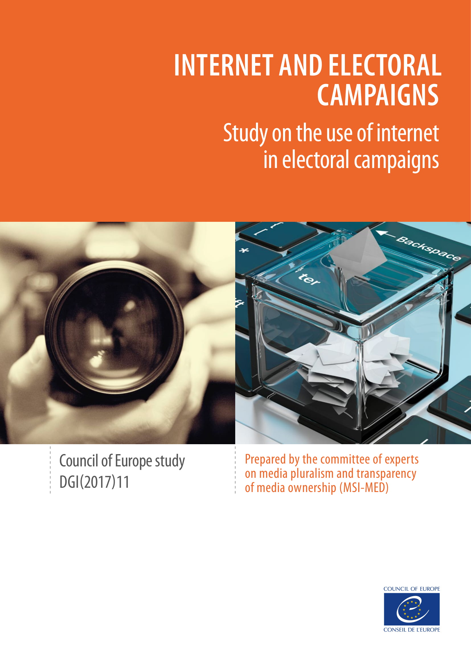 Internet and Electoral Campaigns - Study on the use of internet in electoral campaigns