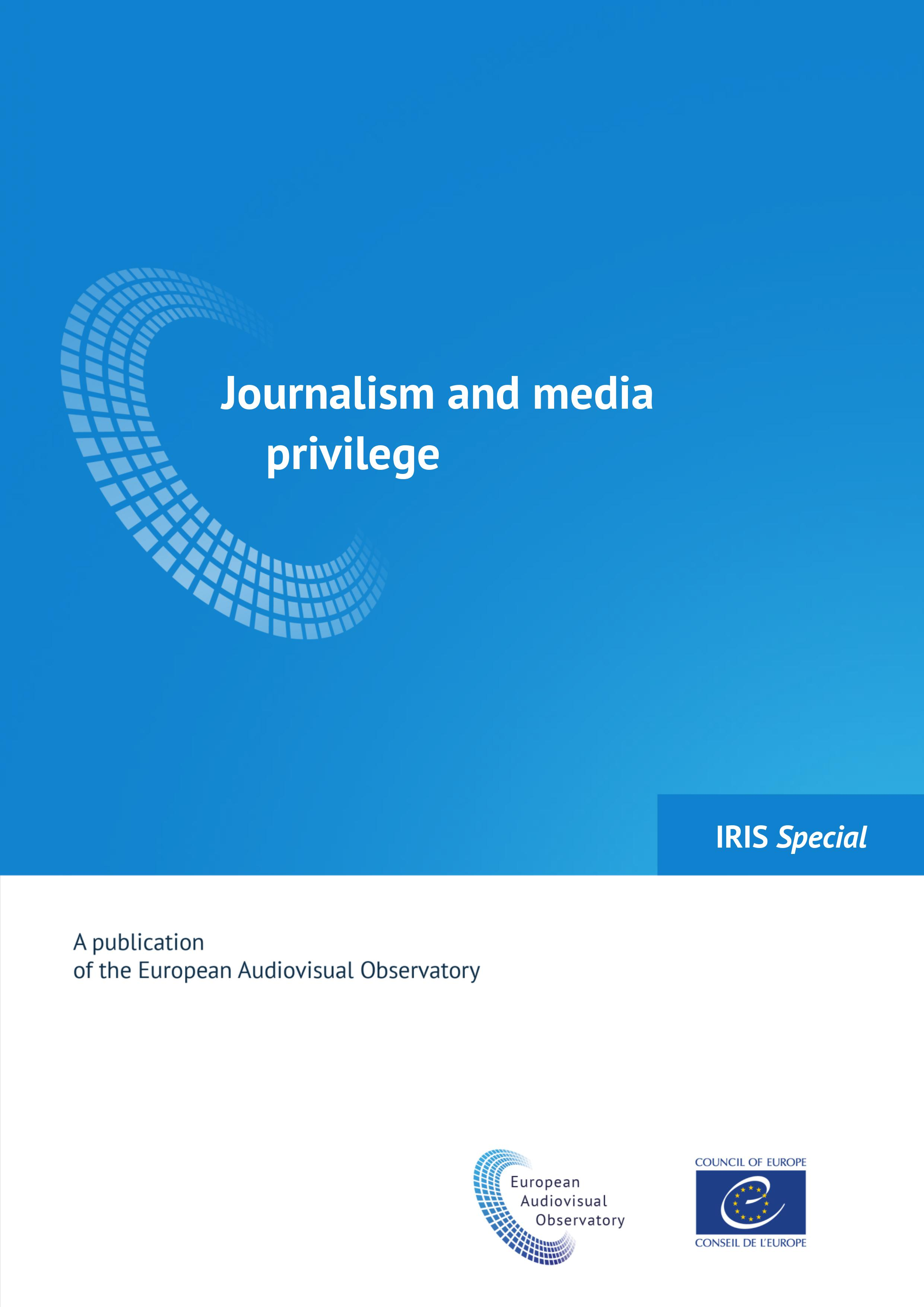 Journalism and media privilege (2017)