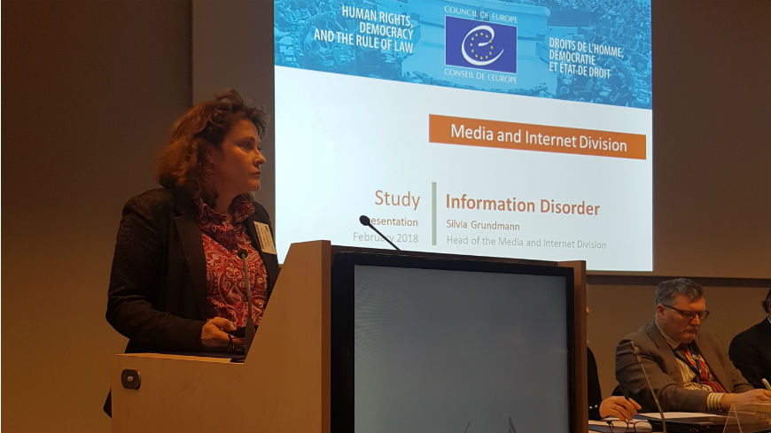 Council of Europe invited to speak at the European Commission Colloquium on Fake News and Disinformation Online