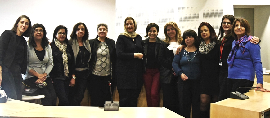 Working Group Pool of Experts on Women Rights in the Southern Mediterranean