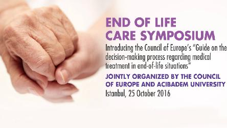 Symposium on End-of-Life