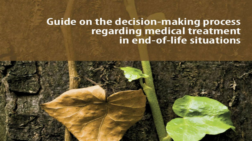 Launching Conference of the Guide on the decision-making process regarding medical treatment in end-of-life situations, 5 May 2014, Strasbourg