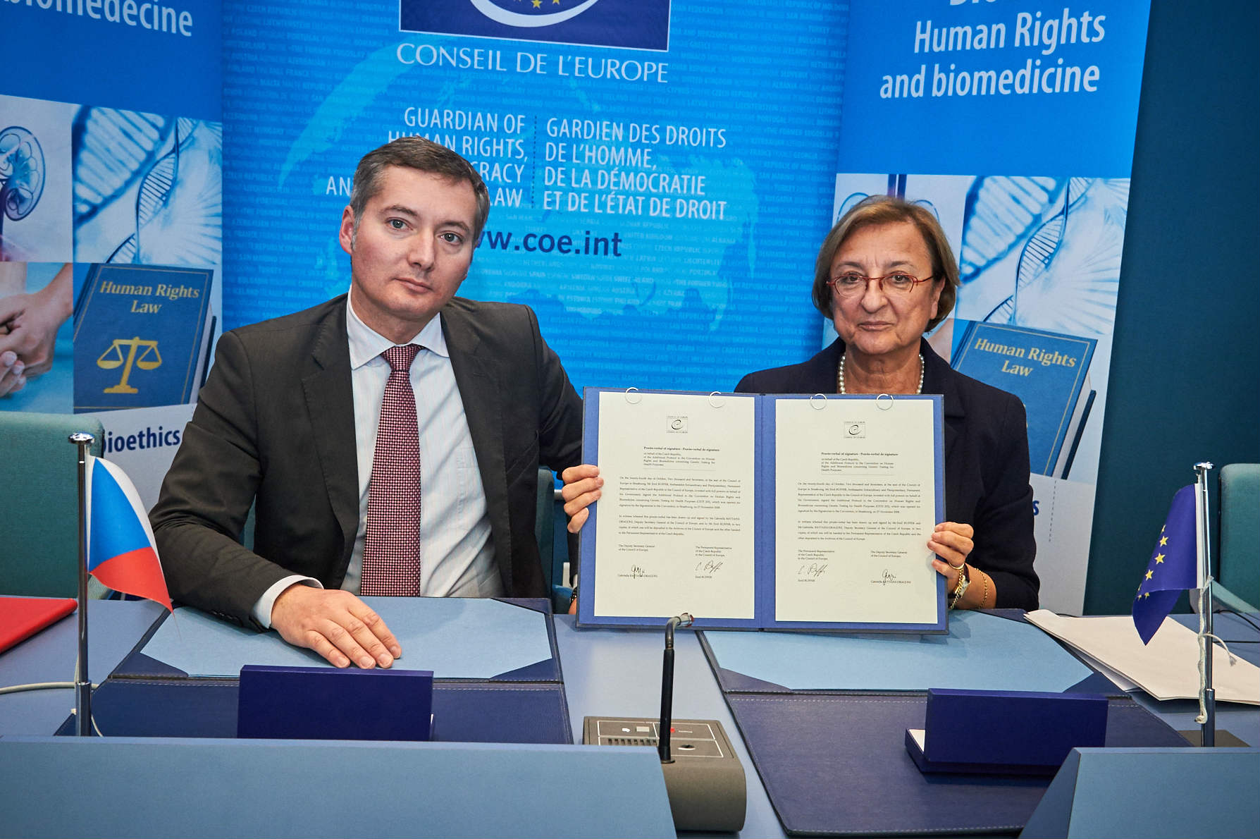 Czech Republic signs the Additional Protocol on Genetic Testing
