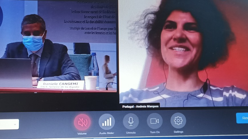 The Council of Europe's Gender Equality Commission (GEC) held its 18th meeting on 22-23 October 2020, via videoconference