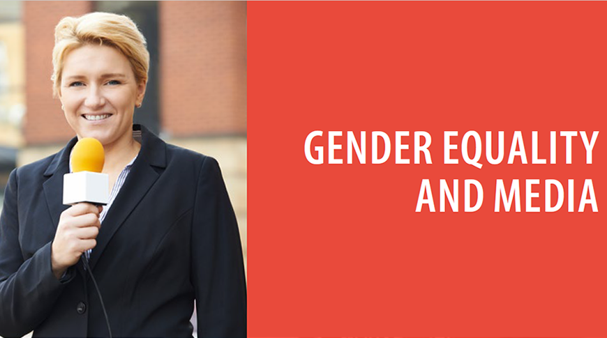 Council of Europe publishes new  Report on  gender equality and media