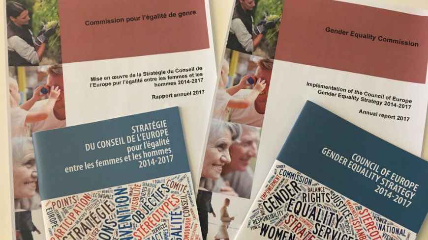2017 annual report on the implementation of the Council of Europe Gender Equality Strategy