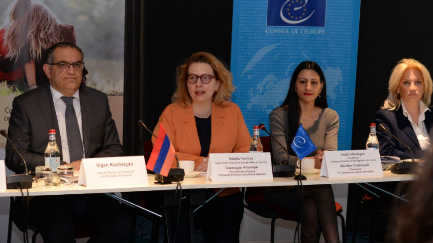 Armenian Police and Academy of Justice strengthen the response to violence against women and domestic violence