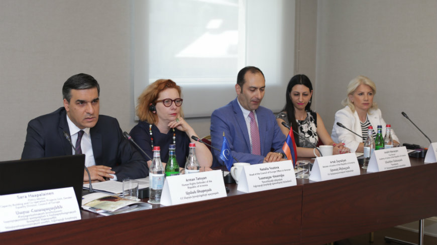Project on combating violence against women launched in Armenia