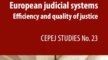 Assessment report on European judicial systems confirms a persistent glass ceiling preventing women to reach top positions as judges and prosecutors