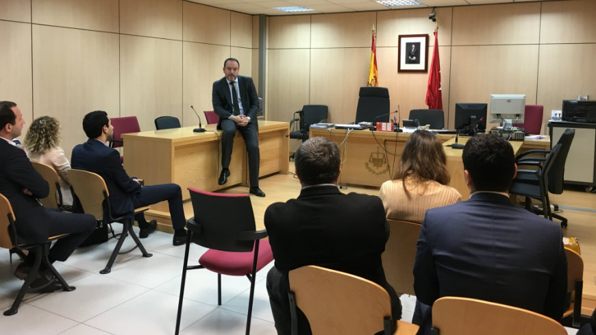 Georgian authorities visited Spain to exchange views on combating violence against women