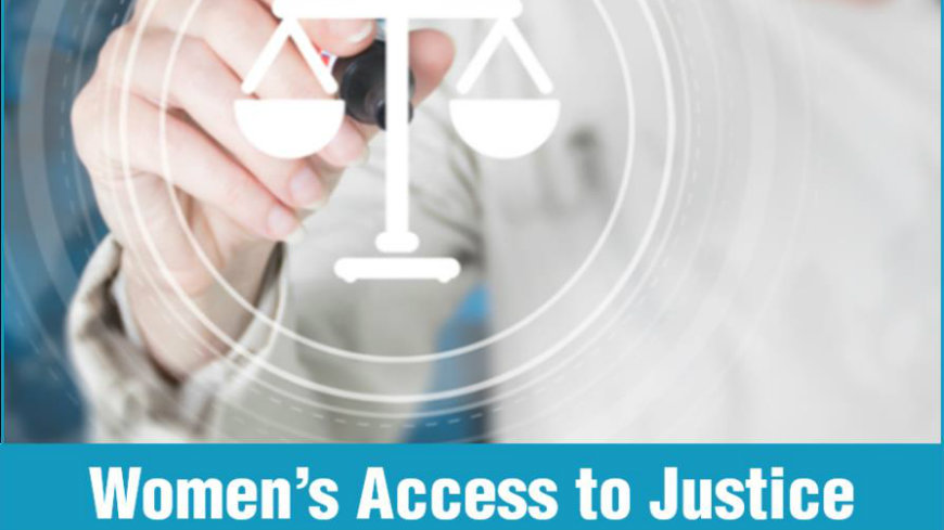 A new HELP course on Access to Justice for Women available on the HELP Platform!